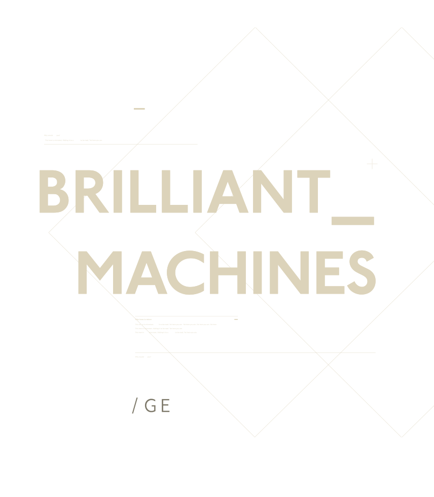 Brilliant Machines